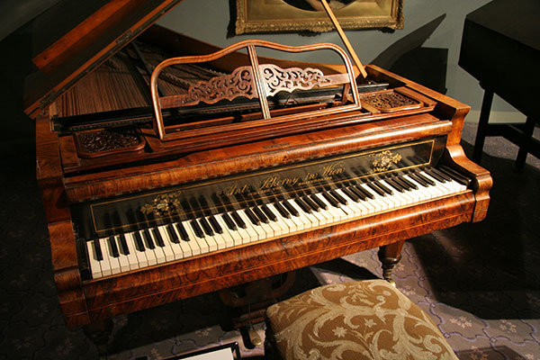 Piano from Liberace Museum in Las Vegas, Nevada